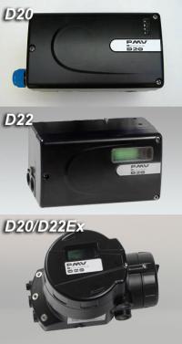 PMV D20 / D22 Digital Valve Positioner