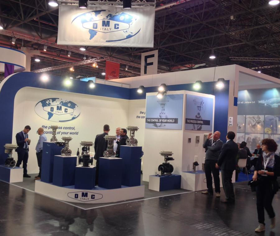 OMC Control Valves at Valve World 2014