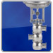diverting hygienic control valve