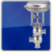Mixing hygienic control valve