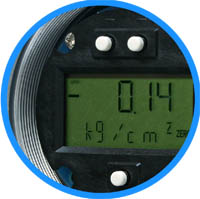 LCD Indicator with push buttons